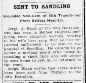 Sent to Sandling London Advertiser March 3 1916 Page 14