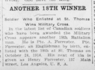 Another 18th Winner London Advertiser September 2 1916 Page 2