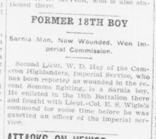 Former 18th Boy London Advertiser September 20 1916 Page 2