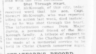 Shot Through Heart London Advertiser September 28 1916 Page 11