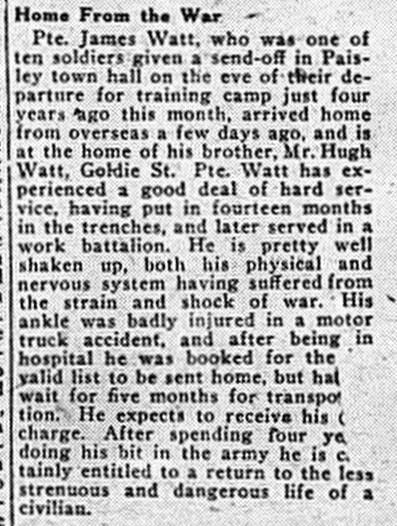 Paisley - 1918 - 10 - 23 - p1