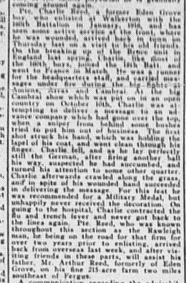 Paisley Advocate, April 9, 1919, p8