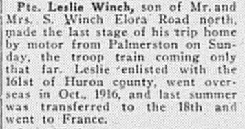 Paisley Advocate, May 28, 1919