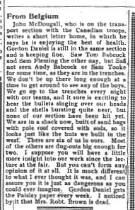 Paisley Advocate, November 3, 1915