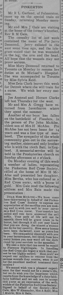 Paisley Advocate, September 6, 1917