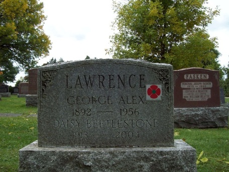 928397 George Alexander LAWRENCE 153rd Battalion