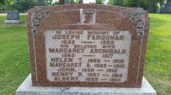 Elora Municipal Cemetery, Elora, Ontario, Canada