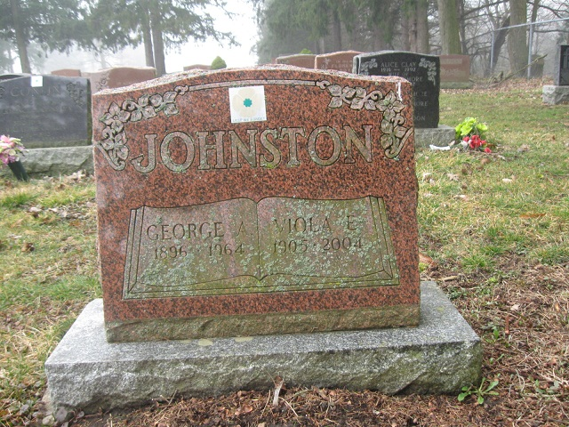928627 George Archibald JOHNSTON Belsyde Cemetery Fergus 1896 - 1964