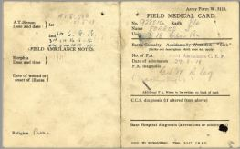 Medical Card 1 John Forbes 928510
