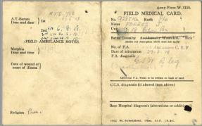 Medical Card 1 John Forbes 928510