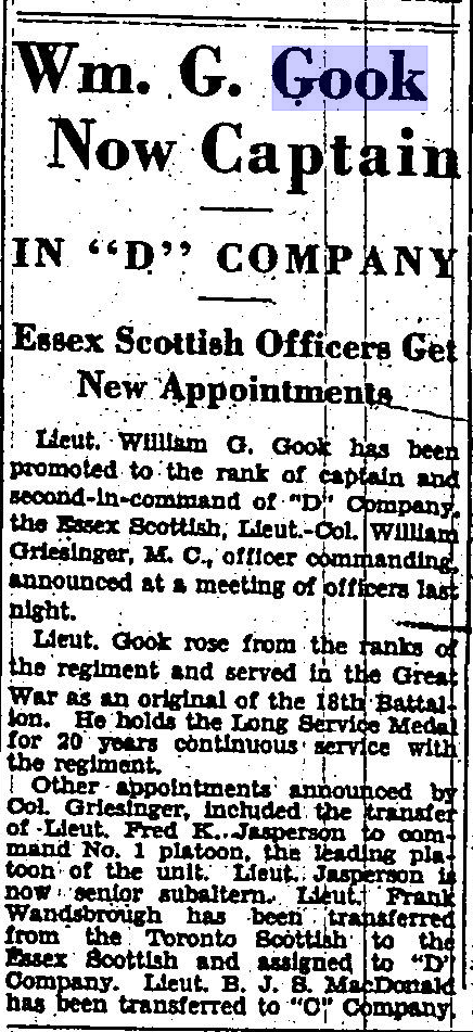 Wm G Gook Now Captain The Border Cities Star April 23 1932 Page 3