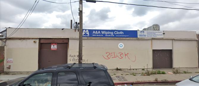 Google Street View 4400 Worth Street Los Angeles Ca