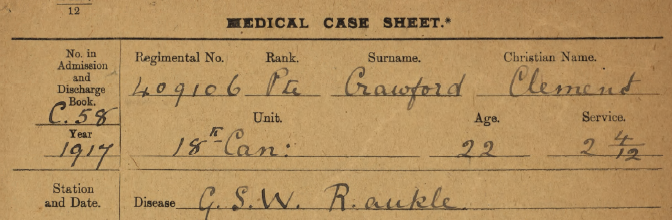 Medical Case Sheet Top