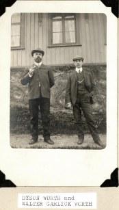 Dyson and Walter Garlick Worth, Sweden, Circa 1910-13.
