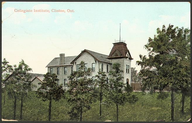 Clinton Collegiate institute 1910