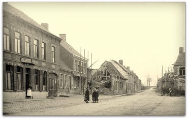 Reninghelst From 27th Battalion FB Group.