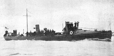 British Torpedo Boat No. 95 (World War 1)